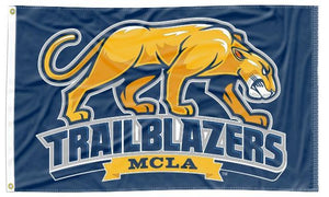 Massachusetts College of Liberal Arts - Trailblazers Blue 3x5 Flag