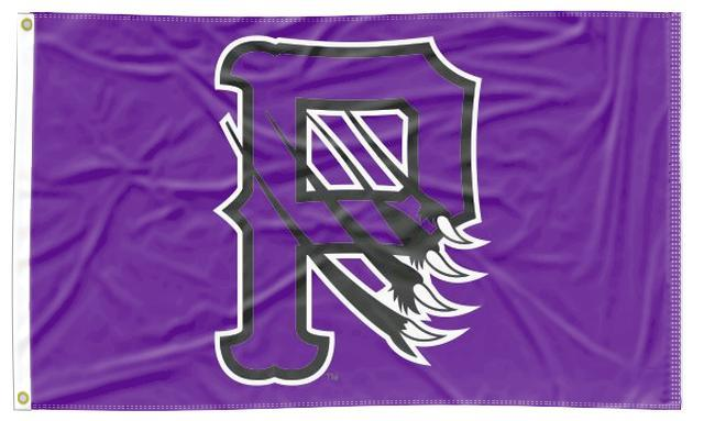 Paine College - P Claws Purple 3x5 Flag