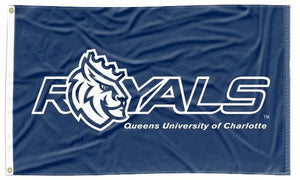 Queens University of Charlotte - Royals Blue 3x5 Flag