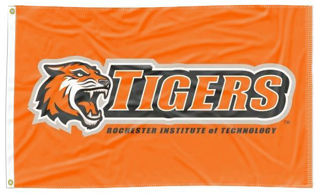 Rochester Institute of Technology - Tigers Orange 3x5 Flag