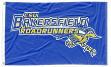 Load image into Gallery viewer, Cal State Bakersfield - Roadrunners Blue 3x5 Flag