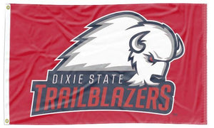 Dixie State University - Trailblazers Red 3x5 Flag