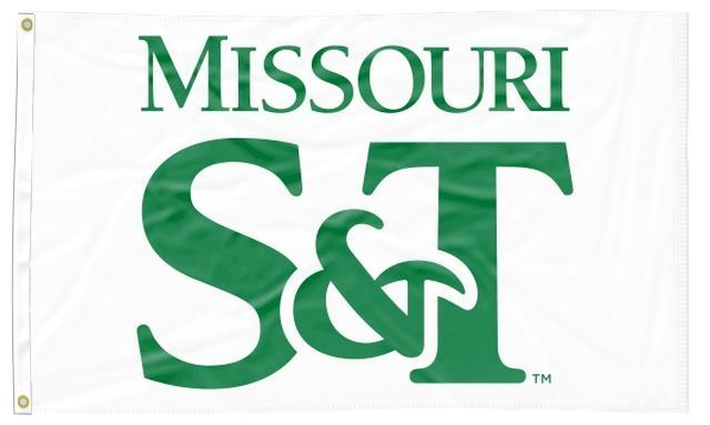 Missouri S&T - Miners White 3x5 Flag