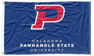 Oklahoma Panhandle State - University Blue 3x5 Flag