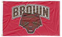 Load image into Gallery viewer, Brown University - Brown Bear Red 3x5 Flag