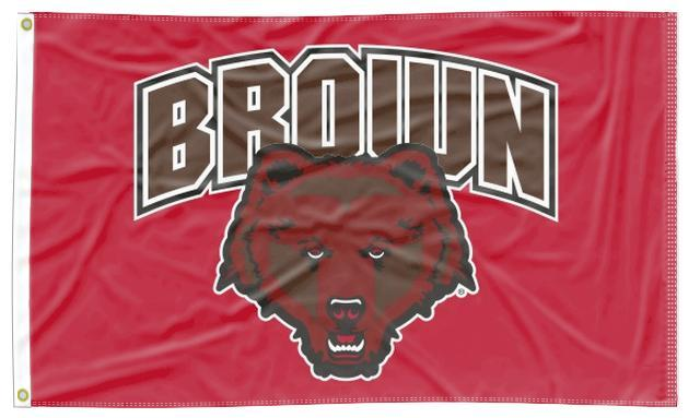 Brown University - Brown Bear Red 3x5 Flag