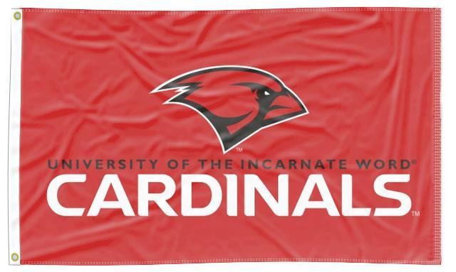 Incarnate Word - Cardinals Red 3x5 Flag