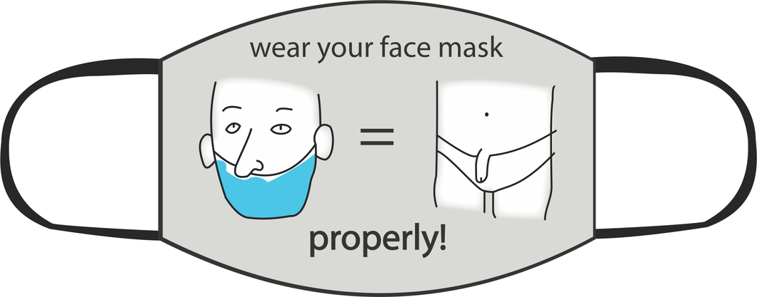 Wear Me Properly Face Mask