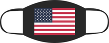 Load image into Gallery viewer, 2 Pack USA Flag Face Mask
