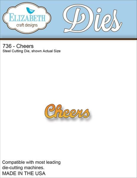 Elizabeth Craft Designs - Dies - Cheers