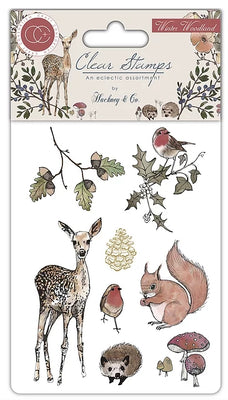 Craft Consortium - Clear Stamps - Winter Woodland