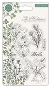 Craft Consortium - Clear Stamps - Herbs