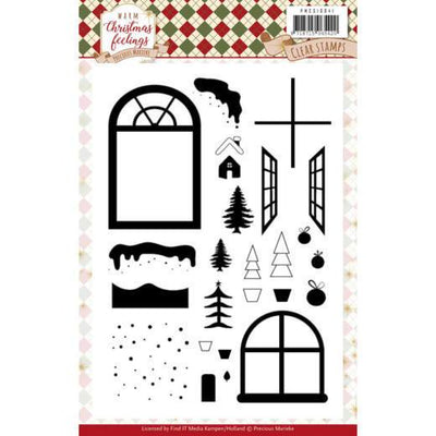 Precious Marieke - Warm Christmas Feelings -  Clear Stamps