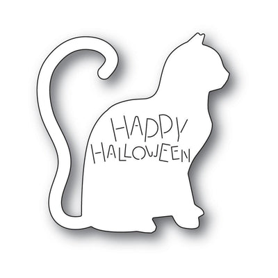 Poppystamps - Dies - Happy Halloween Cat