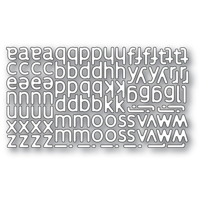 Poppystamps - Dies - Poetic Lowercase Alphabet