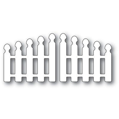Poppystamps - Dies - Pointy Picket Double Gate