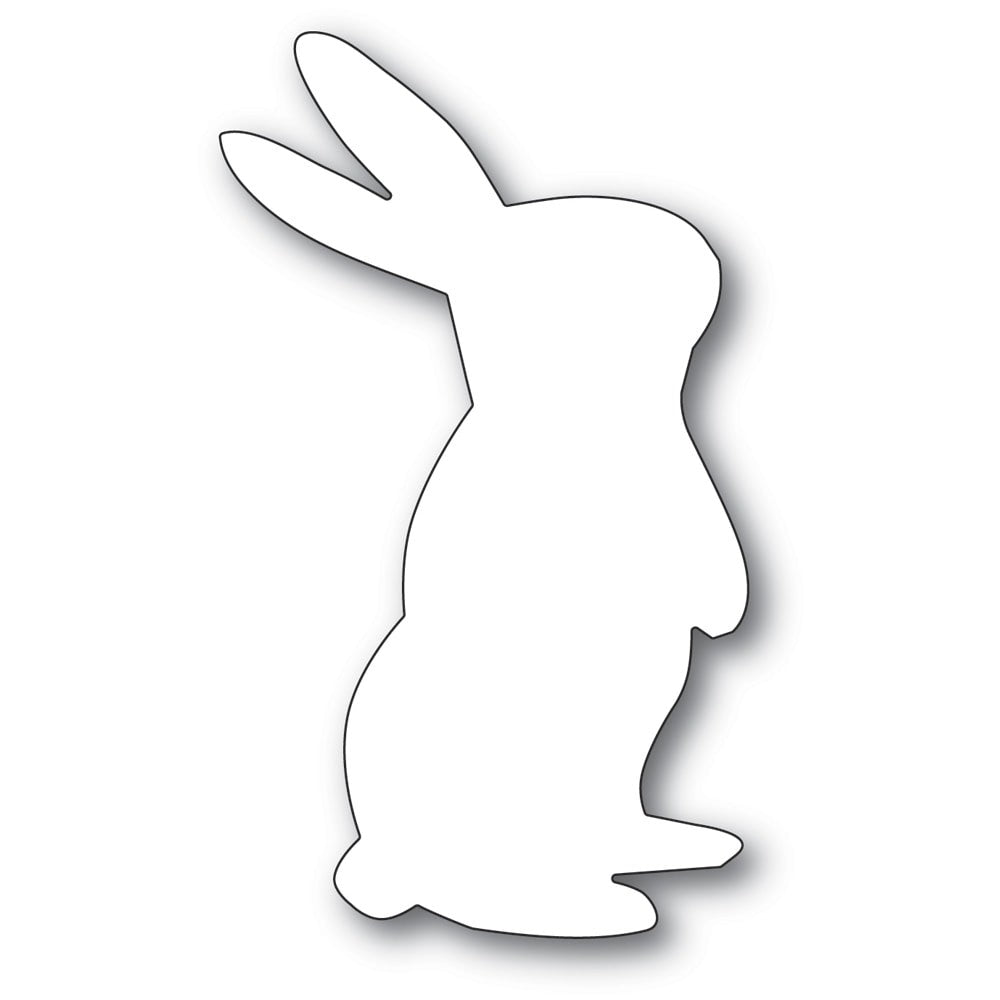 Poppystamps - Dies - Wishful Bunny