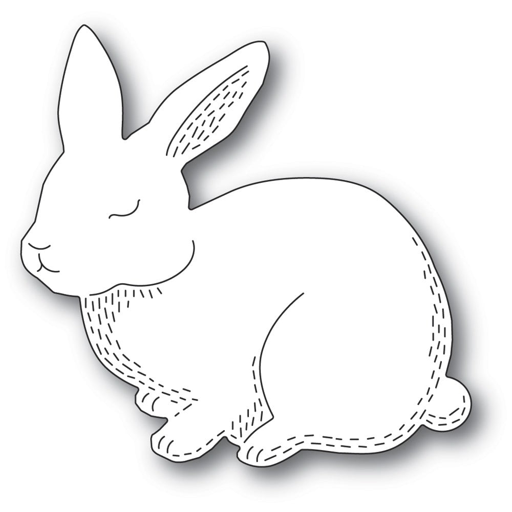 Poppystamps - Dies - Whittle Cutie Rabbit