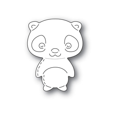 Poppystamps - Dies - Whittle Giant Panda