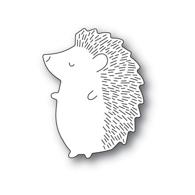 Poppystamps - Dies - Big Hedgehog Left