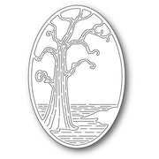 Poppystamps - Dies - Twisted Tree Oval