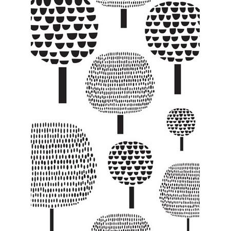 Darice - Embossing Folders - Dotted Trees Pattern