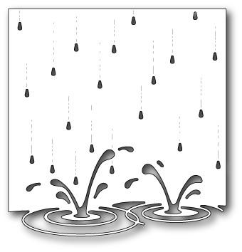 Memory Box - Dies - Splashing Puddles