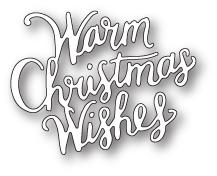 Memory Box - Dies - Warm Christmas Wishes