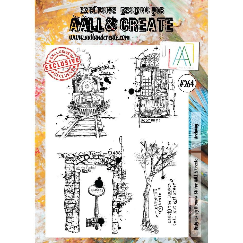 AALL & Create - Stamps - Archway #264