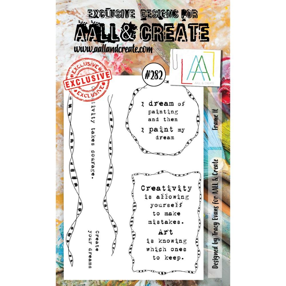AALL & Create - Stamps - Frame It #282