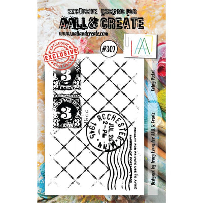 AALL & Create - Stamps - Going Postal #302