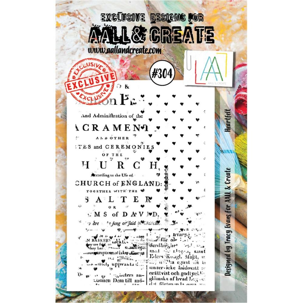 AALL & Create - Stamps - Heartfelt #304