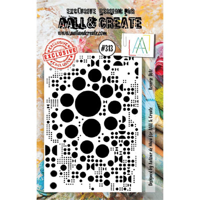 AALL & Create - Stamps - Reverse Dots #313