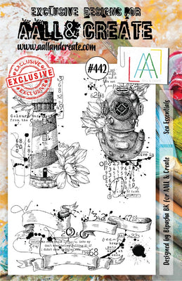 AALL & Create - A5 - Stamp - #442