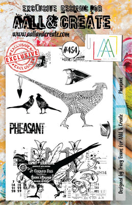 AALL & Create - A5 - Stamp - #454