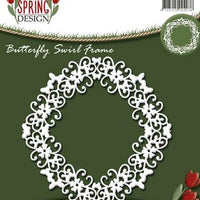 Amy Design - Butterfly Swirl Frame