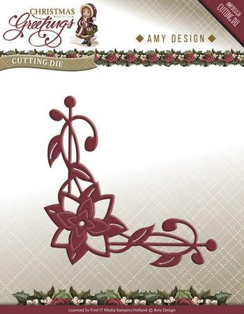 Amy Design - Poinsettia Corner