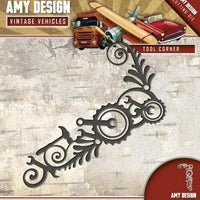 Amy Design - Dies - Vintage Vehicles - Tool Corner