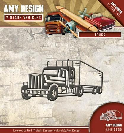 Amy Design - Dies - Vintage Vehicles - Truck