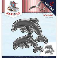 Amy Design - Dies - Maritime - Dolphins
