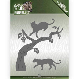 Amy Design - Dies - Wild Animals 2 - Panther