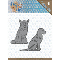 Amy Design - Dies - Dog's Life - Sitting Dogs
