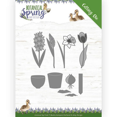 Amy Design - Dies - Botanical Spring - Bulbs & Flowers