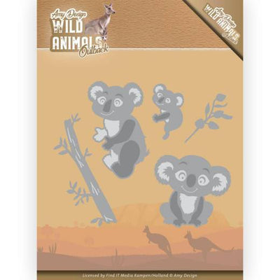 Amy Design - Dies - Wild Animals Outback - Koala