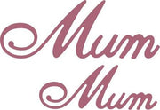 Cheery Lynn Designs - Mum (Set of 2)