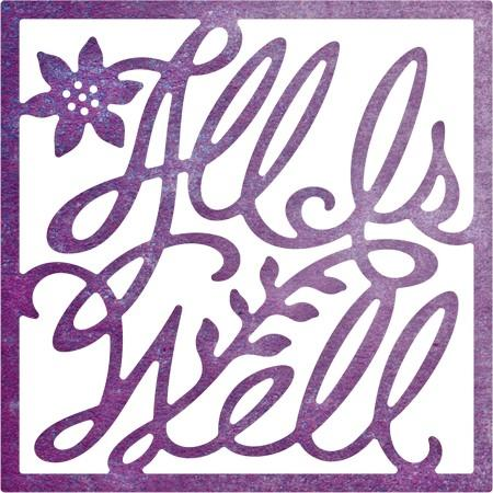 Cheery Lynn Designs - All is Well (Square)
