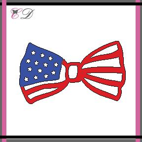 Cheapo Dies - Patriotic Bow