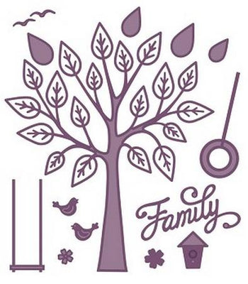Sue Wilson Designs - Finishing Touches - Family Tree