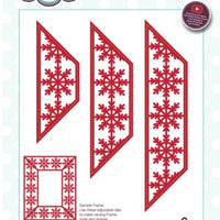 Sue Wilson - Festive Collection - Snowflake Adjustable Frame