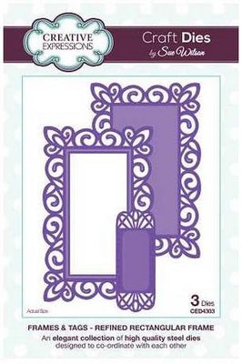 Sue Wilson Designs - Refined Rectangular Frame